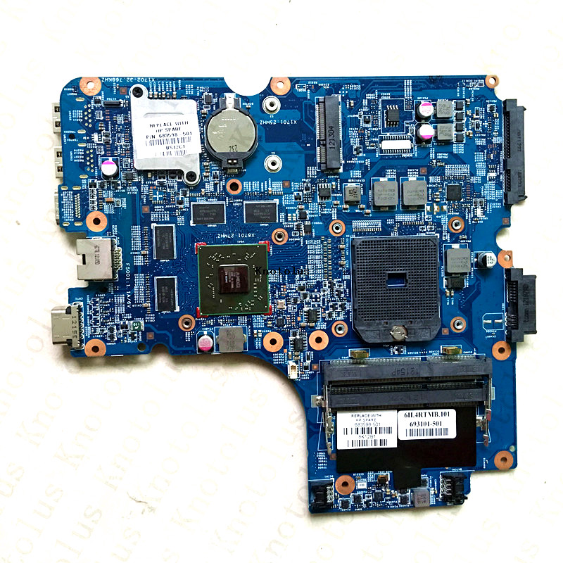 683598-001 For HP 4446S laptop motherboard 683598-501  Free Shipping 100% test ok 734821 501 for hp 15 n 15z n laptop motherboard 734821 001 da0u93mb6d0 cpu a6 5200 free shipping 100% test ok