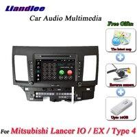 Liandlee для Mitsubishi Lancer IO EX Тип 4 стерео радио Камера Wi Fi CD dvd плеер gps Map Navi навигации Android Системы