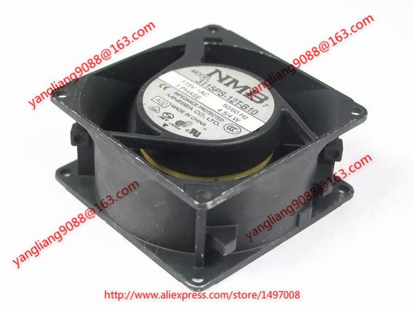 NMB-MAT 3115PS-12T-B10 AC 115 V 4.5/4 W 80x80x38mm serveur refroidisseur ventilateur