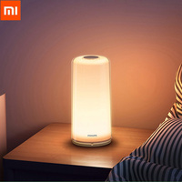 Original Xiaomi Mijia Smart LED Bedside Lamp RGBW Dimmable Night Light USB Type C WiFi Bluetooth 100 240V Smart Mi Home APP