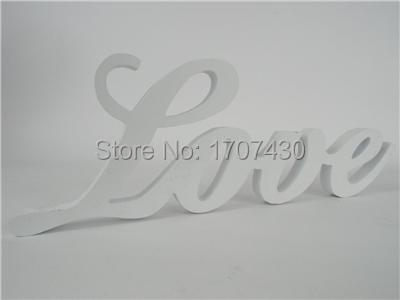 Wedding Decoration Letters Love White Chunk Letter Home Decor Accessories
