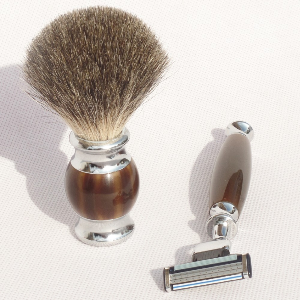 high quality shaving brush razor