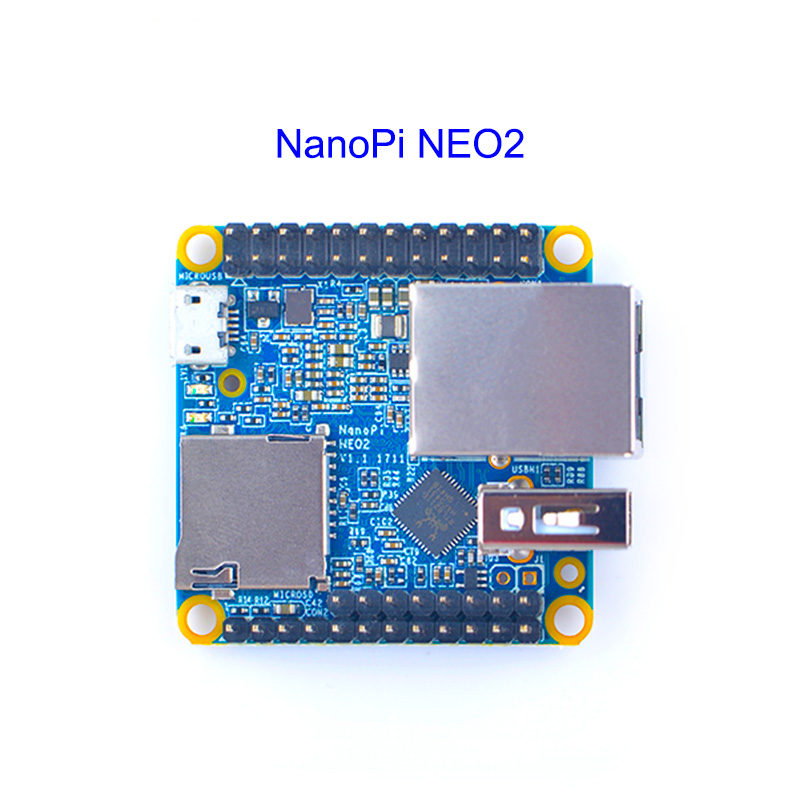 Image 3 - NanoPi NEO2 v1.1 LTS Development Board Faster than Raspberry PI 40X40mm  512MB/1GB DDR3 RAM) ARM Cortex A53-in Demo Board from Computer & Office