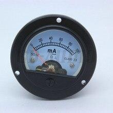 2 sztuk 52mm DC100mA DC200mA okrągłe ruchome cewki miernik panelu dla 300B KT88 2A3 211 EL34 6550 w stylu Vintage Hifi Audio rurki wzmacniacz Audio