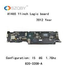 Натуральная лоджик борд для MacBook Air A1465 материнская плата печатная плата для 11 »I5 4G 1,7 ГГц 2012 год 820-3208-A