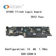"""Genuine Logic board for MacBook Air A1465 mother board 11"""" I5 4G 1.7Ghz 2012 Year 820-3208-A"""