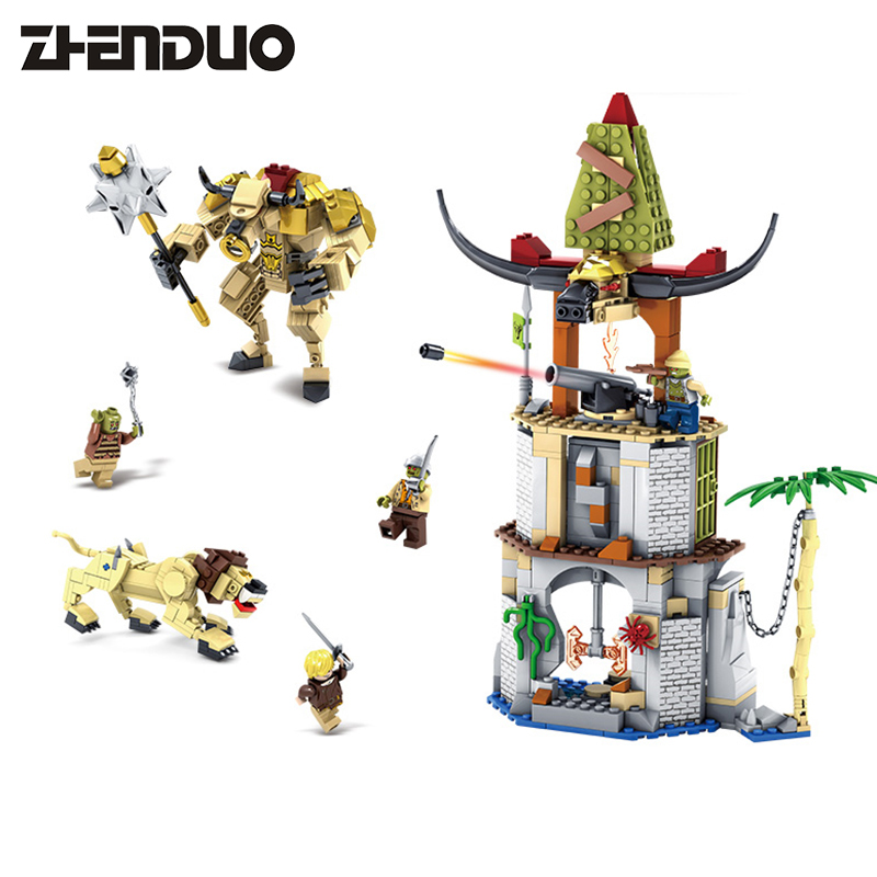 KAZI 87021 Chronicles of Narnia Block Building Toys Battle in Tauren Village Model Construction Bricks Educational Toys KidHobby the chronicles of narnia horse and his boy