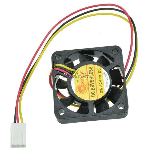 3 Булавки 40 мм компьютер Процессор кулер вентилятор охлаждения Вентиляторы PC 4 см 40x40x10 мм DC 12 В