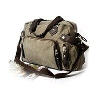 New Canvas Shoulder Bag Japanese And Korean Version Of The Trend Of Leisure Men Bag Retro