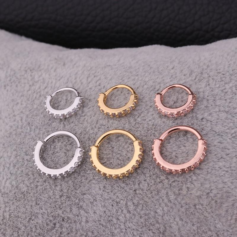 Πωλήσεις 1PC Ασημένιο και χρυσό χρώμα CZ - Κοσμήματα μόδας - Φωτογραφία 6