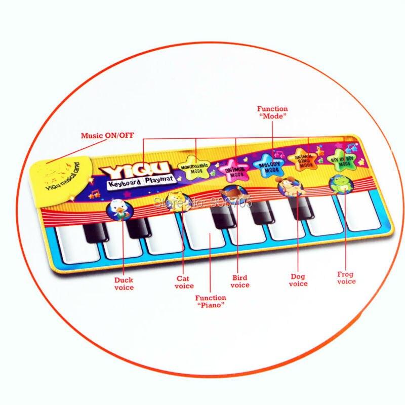 3bebe Musique Tapis Piano Tapis Bebe Palymat Pour Enfants Jouets