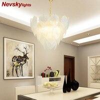 Люстра потолочная для гостиной золотой стеклянный подвесной светильник на кухню подвесные светильники в спальню