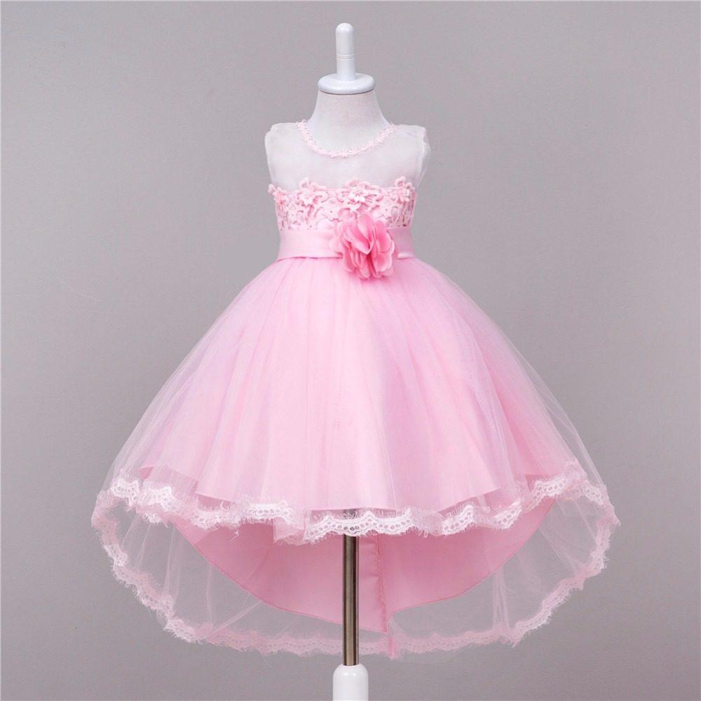 Tienda Online Bebé Niñas noche trailing Vestidos para boda Navidad ...