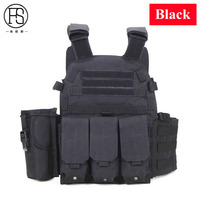 High Quality Outdoor Sport Hunting Patinball Airsoft Vest Tactical Vest Military Equipment Tactical Army Combat Protection