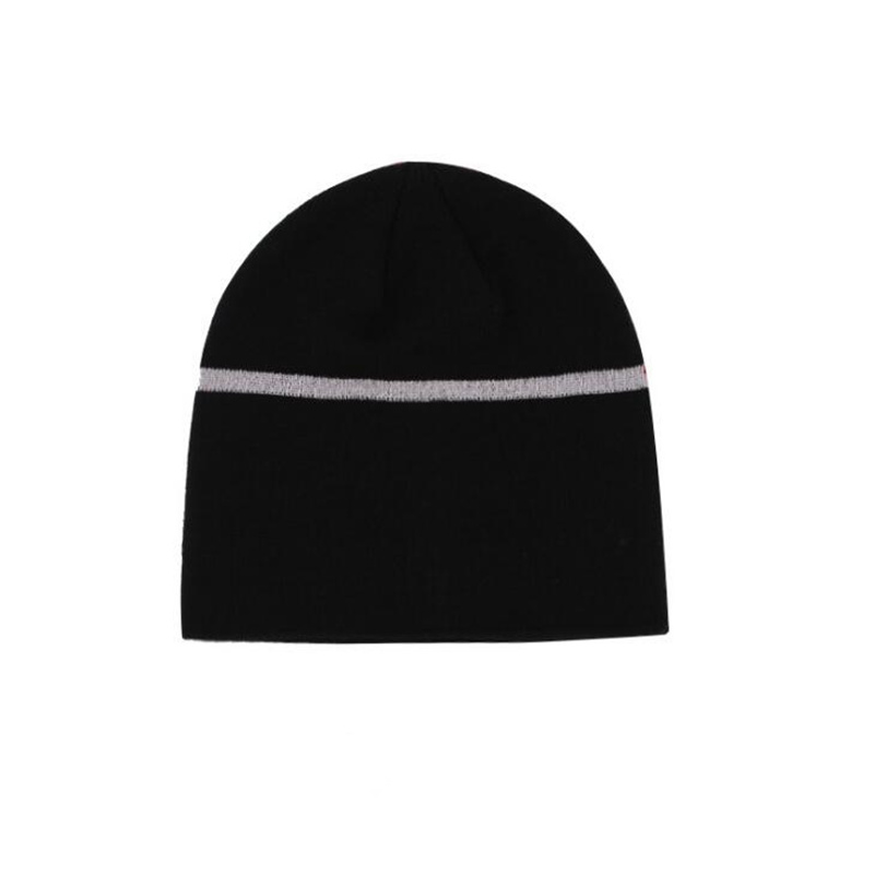 Reflective Beanie Hats for Men and Women Sports Night Running Caps High  Visibility Safety Beanie Hats 886385887230
