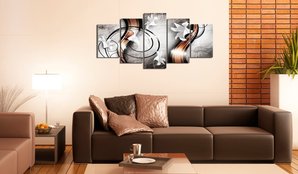 5 Panel Wall Pictures for Living Room Picture Print Painting On Canvas Wall Art Home Decor Living Room Canvas Print PJMT B 223 in Painting Calligraphy from Home Garden