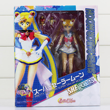 Anime Sailor Moon Sailor Tamashi Nations Action Figure With Box 15cm Gift for Children