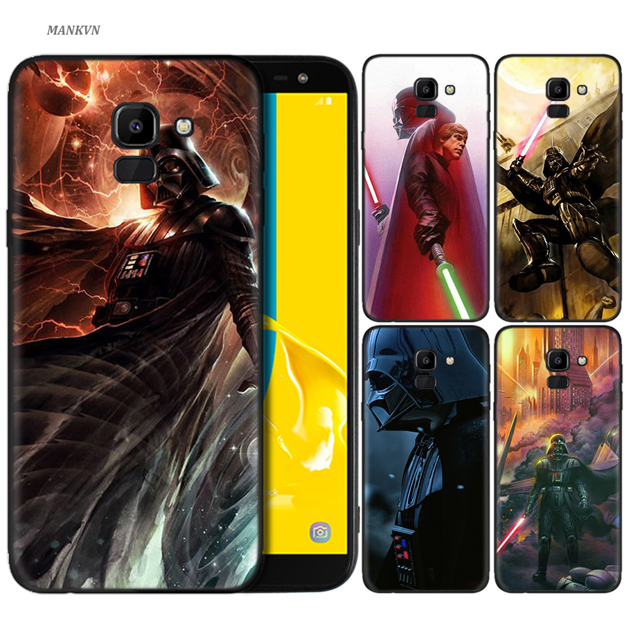5c66e6f1 Silicone Case For Samsung Galaxy J4 J6 A6 A8 Plus A7 A9 J8 2018 A5 2017  Soft Cover Shell Star Wars Darth Vader Yoda