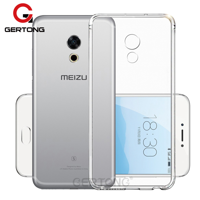 GerTong прозрачные мягкие ТПУ задняя крышка Телефон чехол для Meizu MX6 MX5 Pro 6 7 Plus U20 U10 M3 Примечание m2 мини M5 Примечание M5C M6 Примечание
