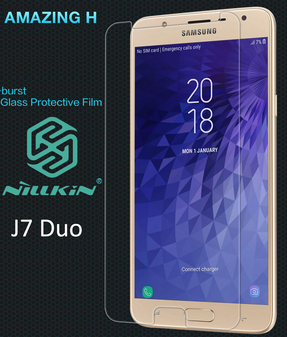 Nillkin Amazing H Tempered Glass For Samsung Galaxy J7 Duo oleophobic Protective