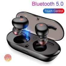 Touch Bluetooth Earphones TWS Wireless Headphones Mini Earbuds HD Stereo Handsfree Headset Noise Cancelling for xiaomi iPhone