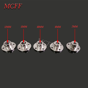 Image 5 - 3mm 3.17mm 4mm 5mm 6mm 6.35mm 7mm 8mm 10mm 11mm 12mm Rigid Flange Coupling Motor Guide Shaft Coupler Motor Connector