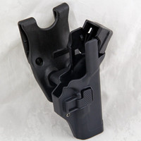 Security Tactical Military For Glock Pistol Holster Right Hand Waist Belt Sink Version Holster Black Tan