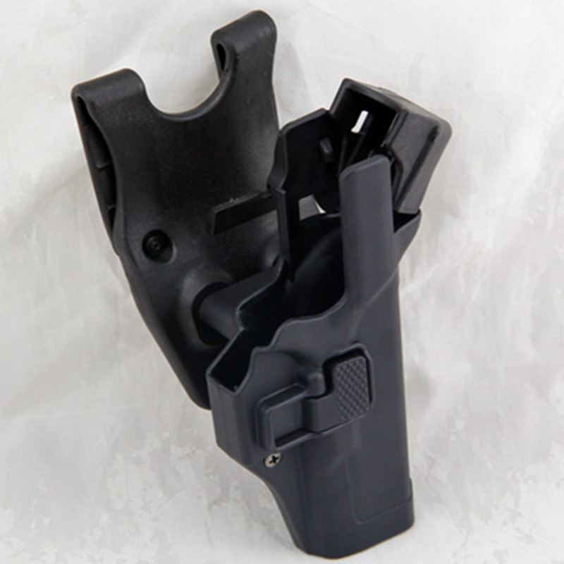 Security Tactical Military for Glock pistol holster right hand  waist belt sink version holster Black Tan Color AvailableSecurity Tactical Military for Glock pistol holster right hand  waist belt sink version holster Black Tan Color Available