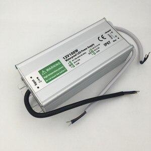 DC 12V Светодиодный источник питания 50W 60W 80W 100W 150W Трансформатор водонепроницаемый IP67 Драйвер для наружного сада ландшафтный светильник