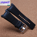Embossed Leather Watchband substitute DZ watch with DZ4246 DZ1273 special DZ4287 notch 32*17Mm Black Brown