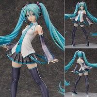 Большой 16 Освобождение Аниме Vocaloid Hatsune Мику V3 1/4 масштаб штучной упаковке 40 см ПВХ фигурку Коллекция Модель игрушки куклы