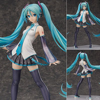 Big 16 Freeing Anime Vocaloid Hatsune Miku V3 1/4 Scale Boxed 40cm PVC Action Figure Collection Model Doll Toy