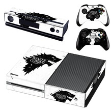 Hot Selling Winter is Coming Skin Sticker Cover for Microsoft Xbox one 1 Console and Controller Covers Sticker bomb stickers