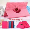 """Tablet Case For iPad Pro 9.7 inch Rotating Two-in-one Leather Flat PU Leather Cases For iPad Pro 9.7"""" Woven Removable Soft Cover"""