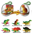 Growing pet toys 1pc dino grow up eggs educational toys christmas gifts