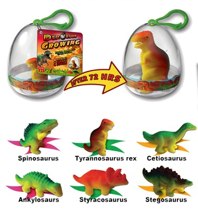 Magic Growing Cute Pet Toys Add Water Growing Dino Eggs Funny Educational Toys for Kids Christmas Thanksgiving Gifts