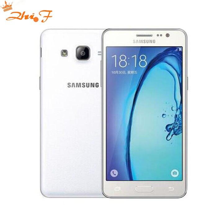 Nouveau Débloqué Original Samsung Galaxy On7 G6000 LTE 4G 5.5 pouces Double SIM 16 8GBROM 13MP Caméra Quad Core 3000 mAh Bonne qualité