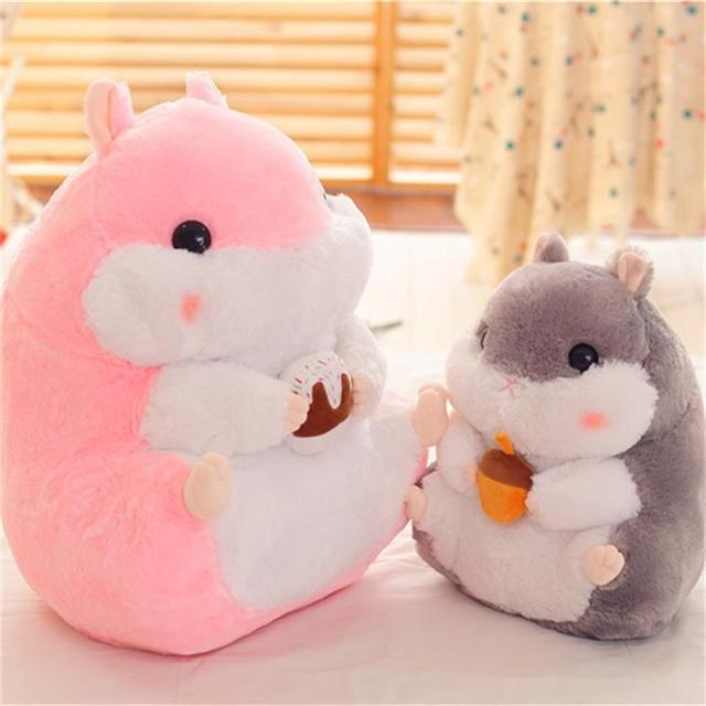 Interessante serie Leuke cartoon hamster knuffel Muis poppen ...