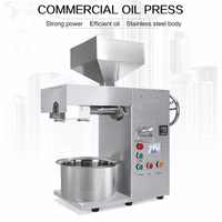 mini commercial oil press machine with good extract oil from seed