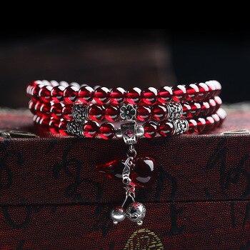Garnet Wine Red Bracelets3