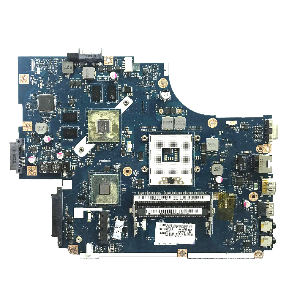 Excellent For ACER 5741G 5742G Laptop Motherboard HM55 GT540M 1GB MBBRB02001 NEW71 LA 5893P 100 working