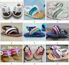 Crochet baby first  walker shoes infant  handmade walker Crochet  shoes  summer shoes