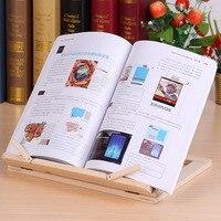 多機能木製テーブルスタンド読書本棚ブラケットタブレット PC パッド描画サポート木製ブックエンドデスクオーガナイザー文房具