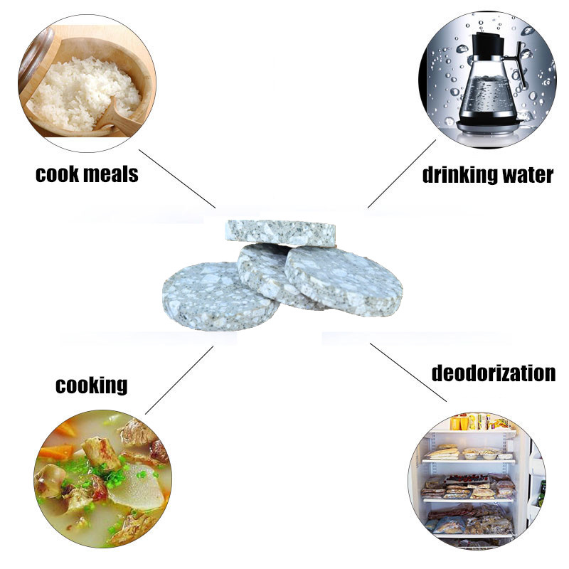 Natural Maifan Stone Disc Release Kinds Of Minerals As Drinking Water Stabilizer/Aquarium