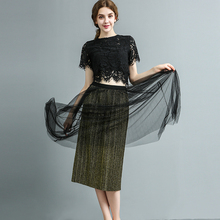New Fashion Womens Pleated Bright Silk Skirt Shiny Retro Simple Casual Solid Skirts