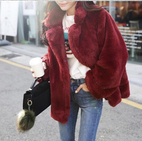 Piel Las Artificial Tamaño Outwear Mujeres Invierno Plus Chaqueta Peludo 2019 Caliente Falsa De Mujer Z282 Abrigo Fluffy 7nqwYx0tZC