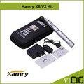 Оригинал Kamry X6 Аккумулятор 1300 мАч переменное напряжение X6 батарея комплект с эго ce4 распылитель v2 сигареты x9 испаритель комплект