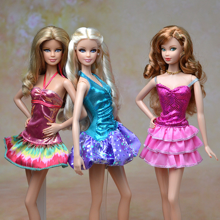 2015 New Design Original Formal Dress Gown Skirt Summer Suit Outfit Fashion Clothes 1/6 Kurhn Barbie Doll Baby Toy Xmas - Eleven-Girls store