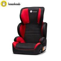 Baaobaab 2 в 1 Booster сиденье автомобиля Группа 2/3 (15 36 кг) регулируемый ремень позиционирования высокой спинкой детское кресло От 4 до 12 лет
