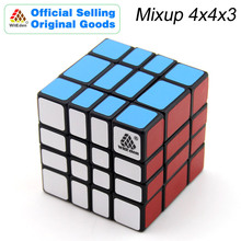 WitEden & Oskar Mixup 4x4x3 Magic Cube 443 Cubo Magico Professional Speed Neo Puzzle Kostka Antistress Fidget Toys